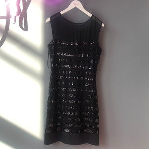 Max and Cleo Sequin Cocktail Party Dress